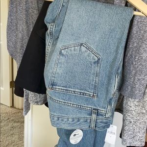 Gap high rise cons denim size 28
